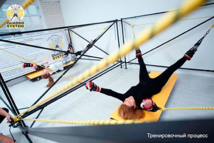 Фото: Гимнастика в Quadro System Training Center 7