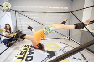 Фото: упражнения от геморроя по уникальной системе Quadro System