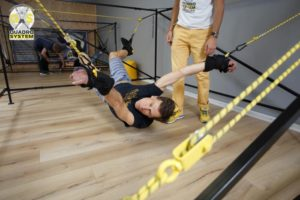 Фото: гимнастика Quadro System для исправления осанки