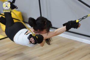 Фото: упражнения для исправления осанки по гимнастике Quadro System