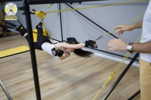 Фото: упражнения для осанки в Квадро Центре