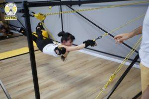 Фото: упражнения против целлюлита по системе Quadro System