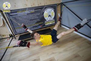 Фото: упражнения в Квадро Центре для укрепления позвоночника