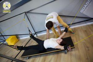 Фото: Упражнения в Квадро Центре - Нина Матвиенко, Сергей Слюсаренко