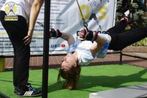 Фото: физические упражнения при радикулите в Киеве в квадро Центре